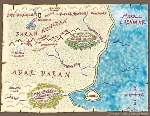 Middle Lasniniar map