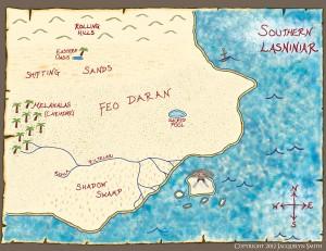 Southern Lasniniar map