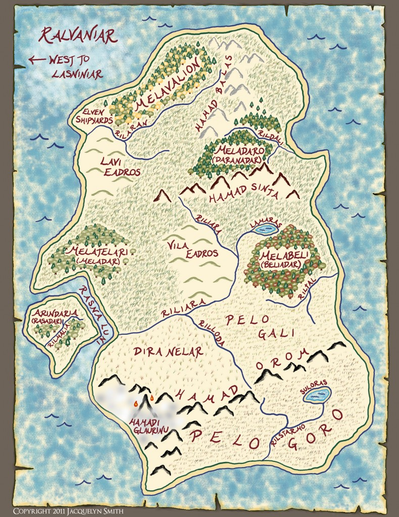 Ralvaniar map